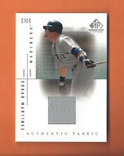 2001 SP GAME USED EDITION EDGAR MARTINEZ GAME-USED JERSEY #EM SEATTLE MARINERS