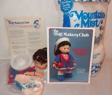 """New Seafaring Cindy Sailor Dress The Doll Makers Club 1989 15"""" Sewing Kit"""
