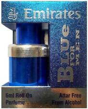 Blue For Men 6ml Attar Perfume Alcohol Free Natural Arabian Attar Fragrance