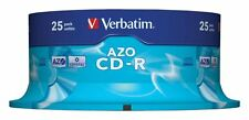 VERBATIM CD-R AZO Crystal 700 MB SPINDLE 25 PZ