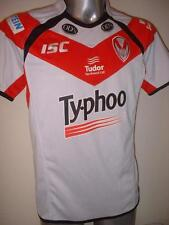 St Helens Typhoo ISC Rugby League Shirt Jersey Adult Small Top New Saints