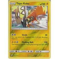 Pokemon TCG: Tapu Koko - 85/214 - Rare Reverse Holo Card - SM8 Lost Thunder