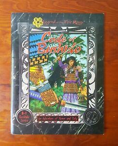 L5R Legend Of The Five Rings Code Of Bushido B-1 Series RPG Sourcebook AEG4003