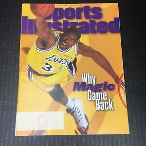Sports Illustrated Magazine February 12 1996 Magic Johnson LA Lakers No Label