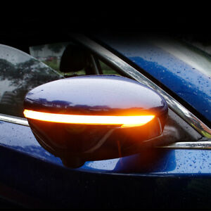 Side Mirror Dynamic Turn Signal For Nissan X-Trail T32 Qashqai J11 Murano Z52