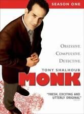 Monk - Season One - DVD - VERY GOOD