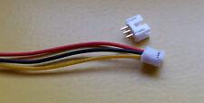 JST PH 2,0 mm 3-Pin Stecker und  Buchse ca. 30 cm Kabel