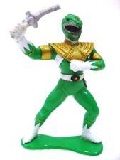"POWER RANGERS MIGHTY MORPHIN ""figure Green"" BANDAI 1993 plastica cm. 7 + arma"