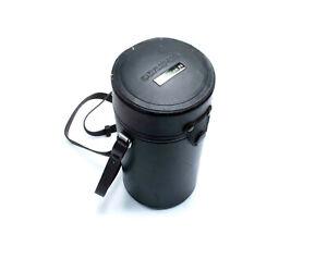 Olympus OM 200mm f4 Leather Lens Case