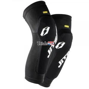 Jitsie Kids Long Knee Guards/Pads - Youth/Junior/Child - Trials/Cycle/Offroad