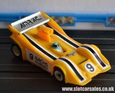Very rare Life Like Amrac Single seater Manta in Yellow number 9 HO slot car