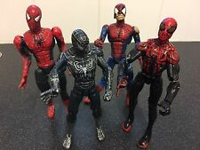 "COLLECTION 4 Spiderman 6"" pollici, si prega vedi foto."
