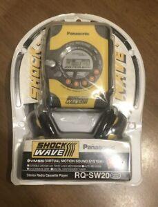 New sealed Panasonic Shock Wave AM/FM Radio Cassette Player Walkman RQ-SW20