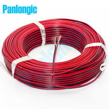 2 Pin Red and Black RVB Electronic Wire 0.75 Square mm PVC Parallel Copper