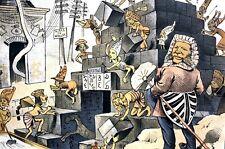 Wall Street Pharaohs Building Tombs 1883 VANDERBILT GOULD Speculators Widows Art