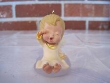 "1992 HALLMARK ORNAMENT MARY'S ANGEL ""LILY""  5TH IN SERIES"