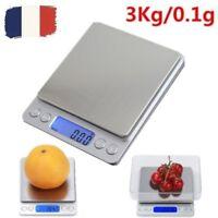 Balance de Cuisine Électronique 3kg 3000g/0.1g scale Numérique Haute Précision