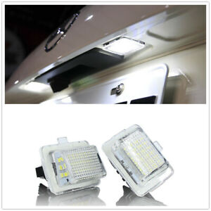 For Mercedes Benz W204/W212/W216/W207 LED Number License Plate Light Lamp MO