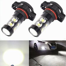 5202 CREE LED Fog Lights Lamp For 2011-2016 GMC Sierra 1500 2500 3500 50W 6000K