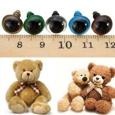 Plastic Safety Eyes for Stuffed Toy Snap Animal Puppet Doll Craft DIY