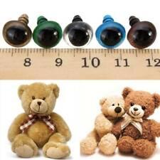 Plastic Safety Eyes for Teddy Bear Stuffed Toy Snap Animal Puppet Doll Craft DIY