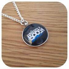 The **Mighty ** BoOsh Charm LOGO pendant necklace Round