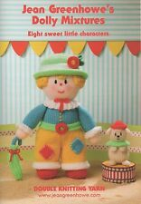 JEAN GREENHOWE KNITTING PATTERNS DOLLY MIXTURES