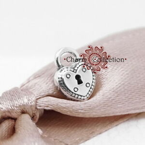 Pandora, S925, NEW Heart Padlock Locket Petite 796569