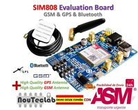 SIM808 Modulo GSM GPRS GPS Development Board IPX SMA with GPS GSM Antenna