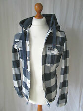 Superdry Hooded Cotton Check Casual Shirts & Tops for Men