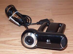 Genuine Logitech Pro 2000 (V-U0009) Black USB Wired WebCam Only For Business