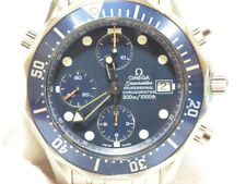 OMEGA Seamaster 300 Chronograph 2599.80 Automatic Men's Watch Navy Dial Used