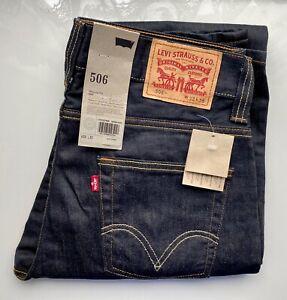 *NEW VINTAGE* LEVI's Original Jeans Standard 506, 00506-0400, W32 L36 dunkelblau