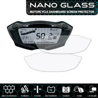 Suzuki SV650 (2016+) GSX-S750 GSX-S1000 (2017+) NANO GLASS Screen Protector x 2