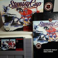 STANLEY CUP  ( Super Nintendo SNES ) Authentic/Tested