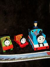 Thomas The Tank Engine And Friends Bathtub Rubber Squirt Toys ~ Percy - Salty