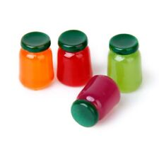 4 bottles of food flavor mix fruit jam Food Store 1/12 Miniature doll house G8S5