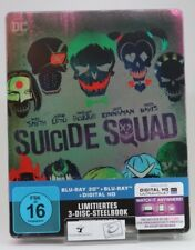 Suicide Squad - Steelbook inkl. BRD Extended Cut (exklusiv Amazon.de) [3D Limite