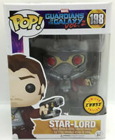 Funko Pop Marvel Guardians of the Galaxy Vol 2 Star-Lord 198 Chase