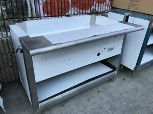 """48"""" Steam Table Natural Gas 3 Pans, All Stainless Steel - NSF Approved"""