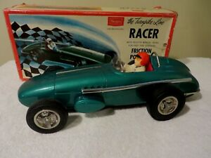 Indy Turnpike Racer Open-Wheel Japan 15 Inch Friction Sears NM Orig Box