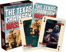 Texas Chainsaw Massacre - Playing Card Deck - 52 Cards New - Leatherface 52274