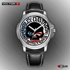 Orologio da polso Harley & Davidson teschio biker Motorcycles skull watch usa S