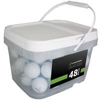 48 Titleist Pro V1 Near Mint Used Golf Balls AAAA *In a Free Bucket!*