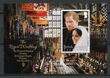 BAT Brit Antarctic Ter 2018 MNH Prince Harry Meghan Royal Wedding 1v M/S Stamps