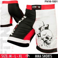 MMA Grappling Shorts UFC Mix Cage Fight Kick Boxing Fighter Short NEW - M-L-XL