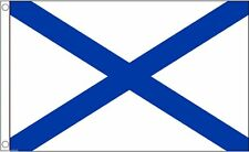 Spain Galician Cross of St Andrew 1845 to 1891 National 5'x3' Flag