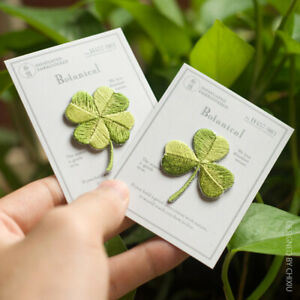 Four-leaf Clover Patches Ironing Cloth Stickers Embroidery Patch Applique N&