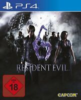 PS4 / Sony Playstation 4 - Resident Evil 6 DE/EN mit OVP