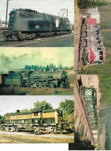 Five (5) US Railway Cards New Unused From Railcards California Lot No 5